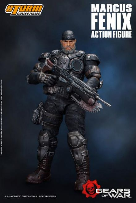 Storm Collectibles Gears of War 5 1/12 Scale Marcus Fenix Action Figure
